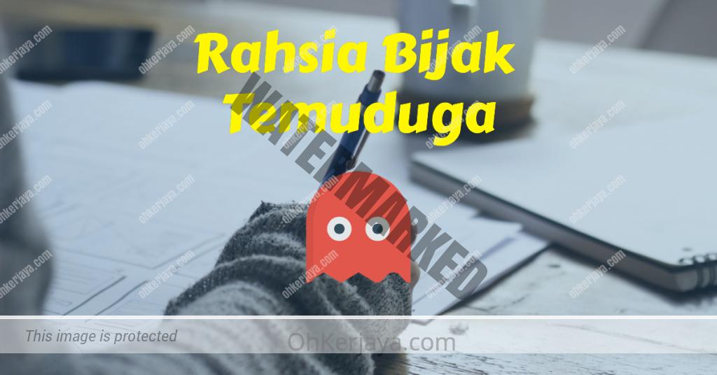 Review Rahsia Bijak Temuduga