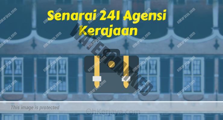 Senarai 241 Agensi Kerajaan Review Ebook